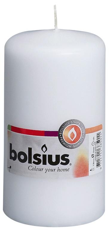 Bolsius Pillar Candle Single - White
