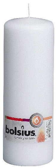 Bolsius Pillar Candle Single - White