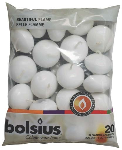 Bolsius Floating Candles Bag 20 - White