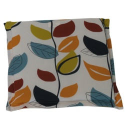 Culcita Seat Pad Cushion 5cm Valance Autumn Leaf