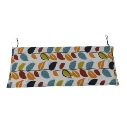 Culcita Bench Cushion 5cm Valance Autumn Leaf