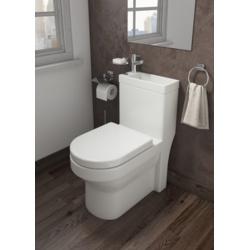 Trojan 2 In 1 WC & Basin