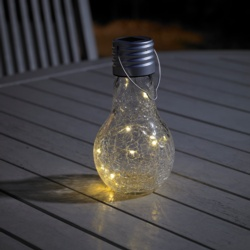 Dusk To Dawn Crackle Solar Light Bulb