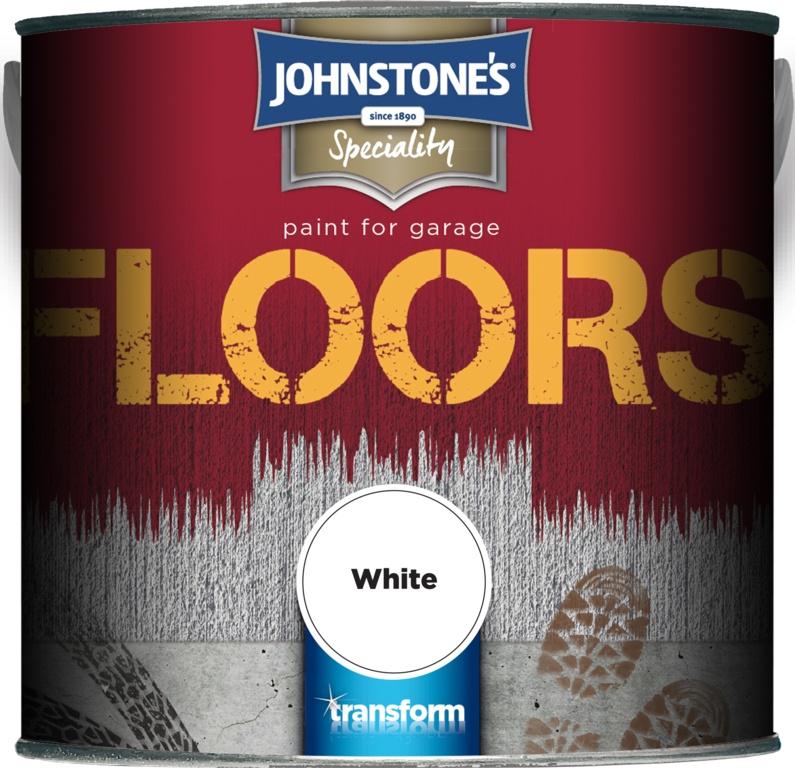 Johnstone's Garage Floor Paint 2.5L - White