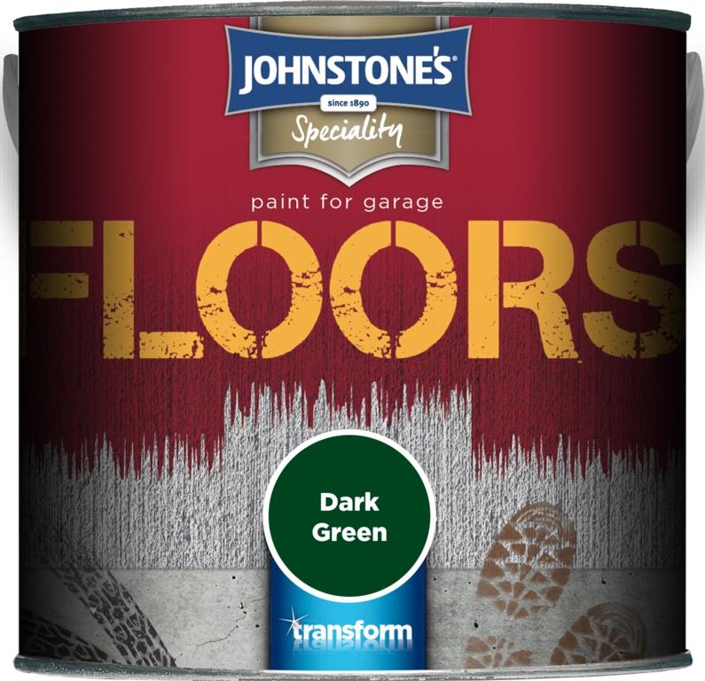 Johnstone's Garage Floor Paint 2.5L - Dark Green