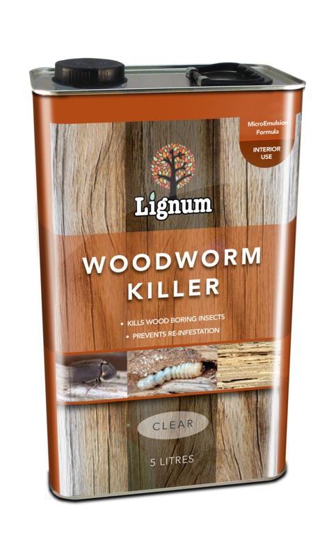 Lignum Woodworm Killer - 5L