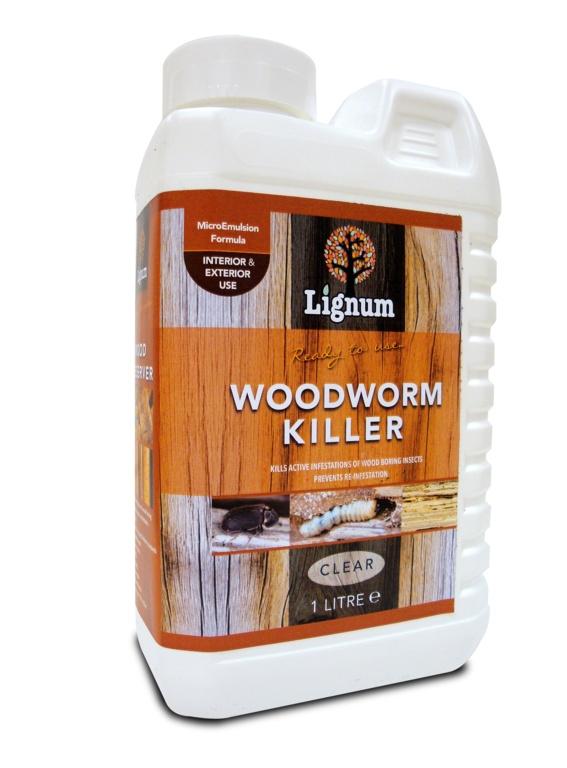 Lignum Woodworm Killer - 1L