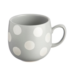 Price & Kensington Spot Grey Mug