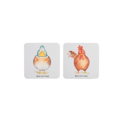Price & Kensington Back To Front Set 4 Coasters