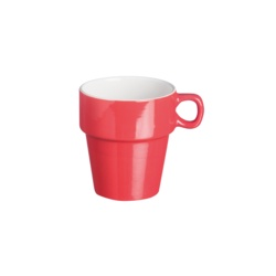 Price & Kensington Brights Red Stacking Mug
