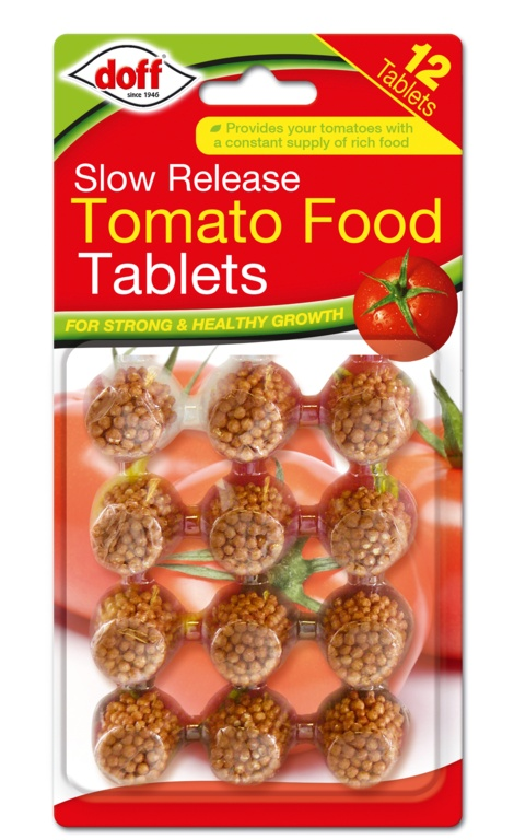 Doff Slow Release Food Tablets 12 Tablets - Tomato