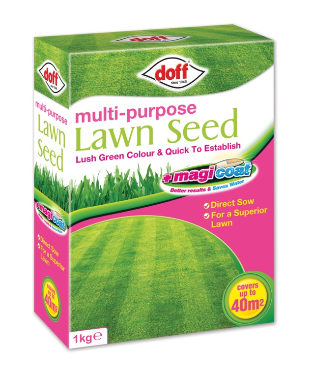 Doff Multi Purpose Magicoat Lawn Seed - 1kg
