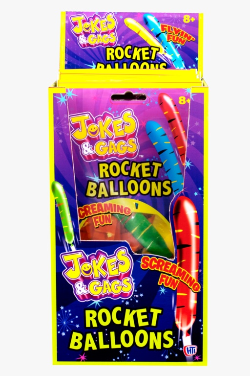 Jokes & Gags Rocket Balloons