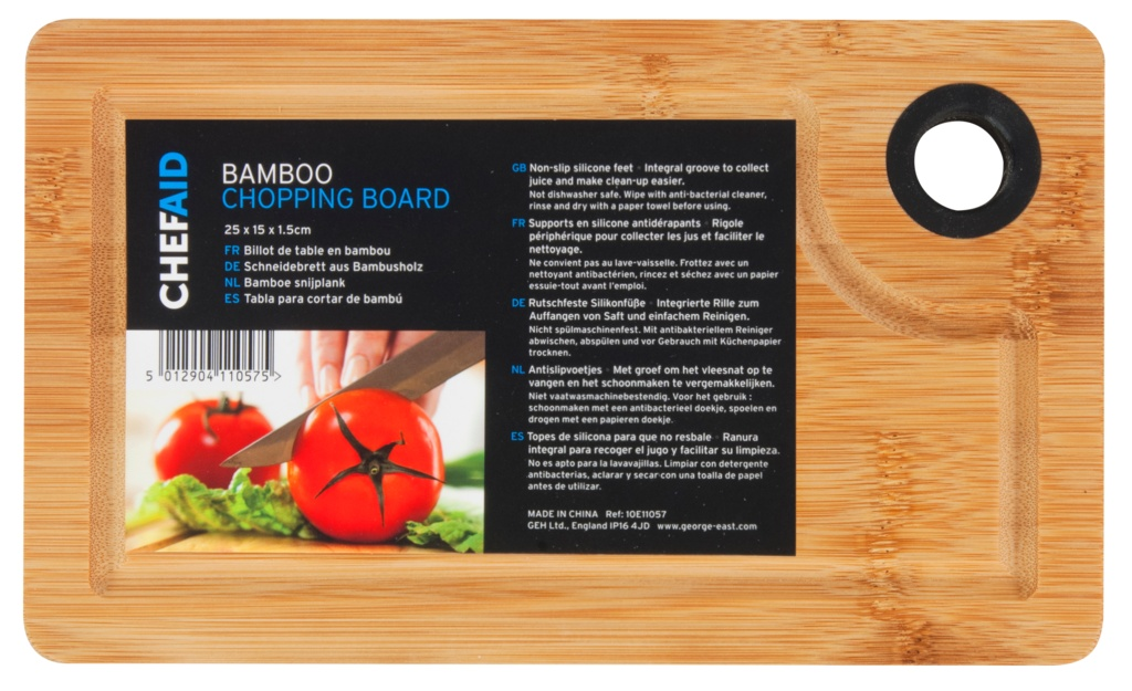 Chef Aid Bamboo Board - 25x15