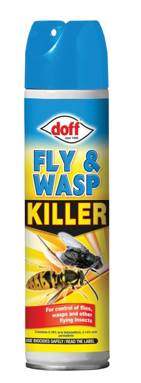 Doff Fly & Wasp Killer - 300ml Aerosol
