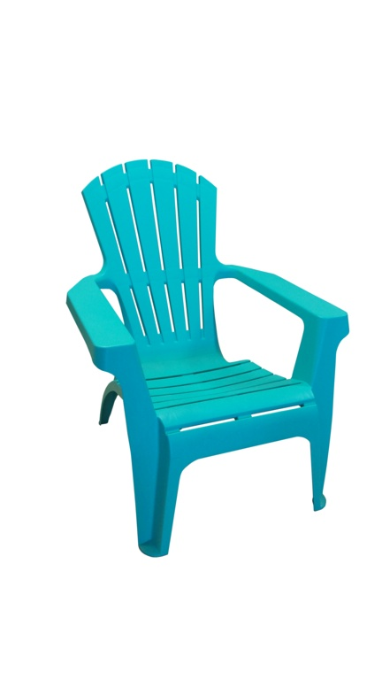 SupaGarden Plastic Stackable Armchair - Turquoise