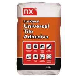 Norcross Nx Stone White Universal Flexible Tile Adhesive