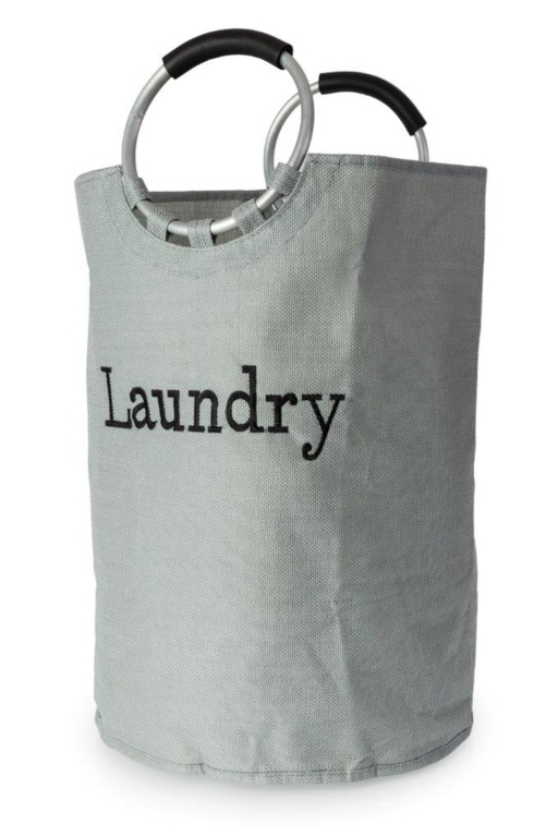Blue Canyon Laundry Bag Linen Affect - Grey