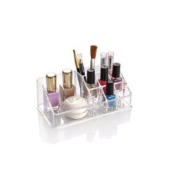 Blue Canyon Clear Cosmetic Organiser