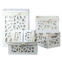 Blue Canyon Geometric Storage Set