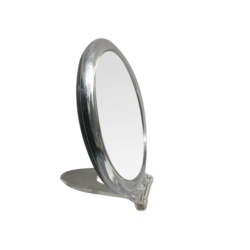 Blue Canyon Clear Mirror With Stand