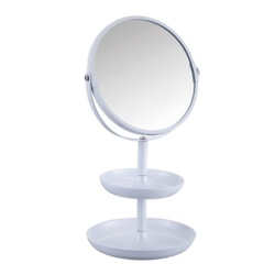 Blue Canyon Cosmetic Mirror With Trays
