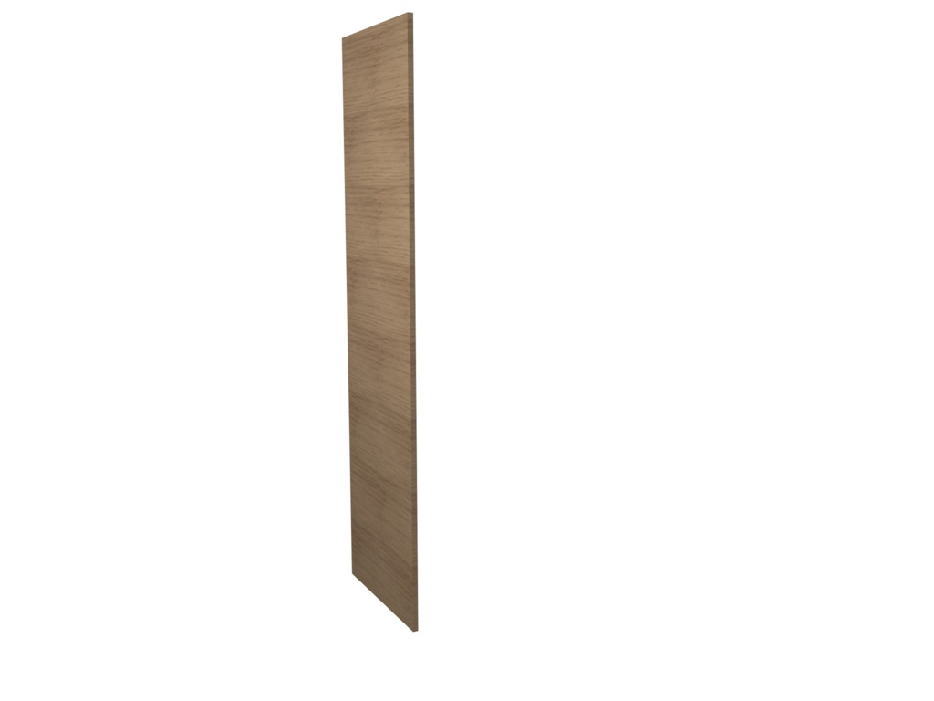Gower Rapide+ Tall Clad Panel - Textured Oak 2118x 585x18mm