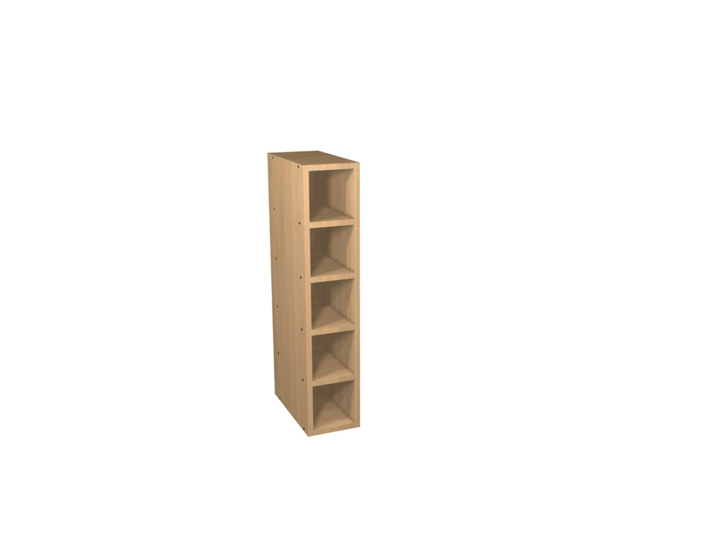 Gower Rapide+ Wine Rack 150mm - Textured Oak