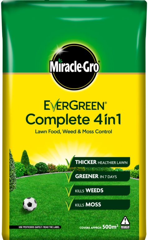 Miracle-Gro Evergreen Complete 4 In 1 - 500m2