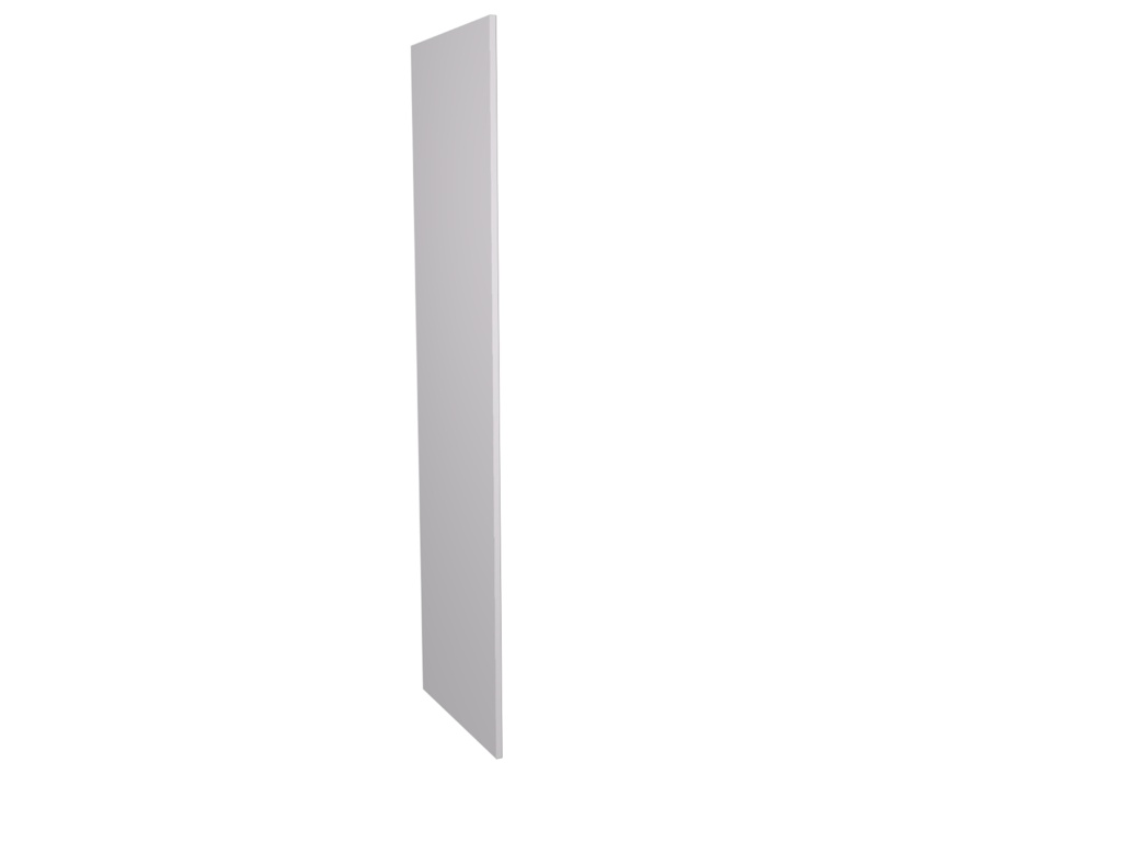 Gower Rapide+ Tall Clad Panel - White Gloss 2118x585x18mm