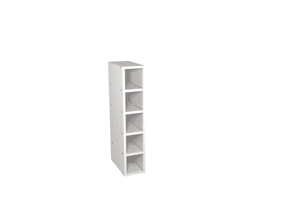Gower Rapide+ Wine Rack 150mm - Matt Grey
