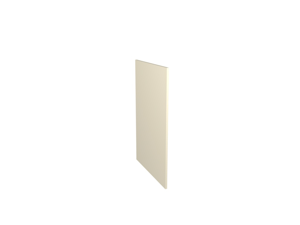 Gower Rapide+ Base Clad Panel - Cream Gloss 870x585x16mm