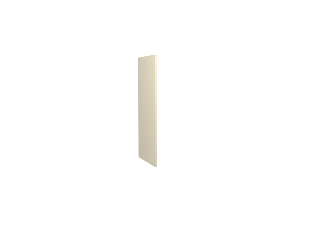 Gower Rapide+ Wall Clad Panel - Cream Gloss 704x350x16mm