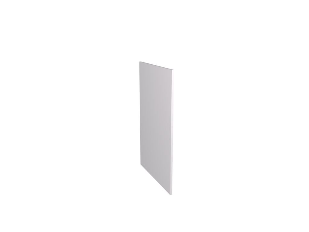 Gower Rapide+ Base Clad Panel - White Gloss 870x585x16mm