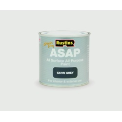 Rustins ASAP All Surface Paint 250ml Grey