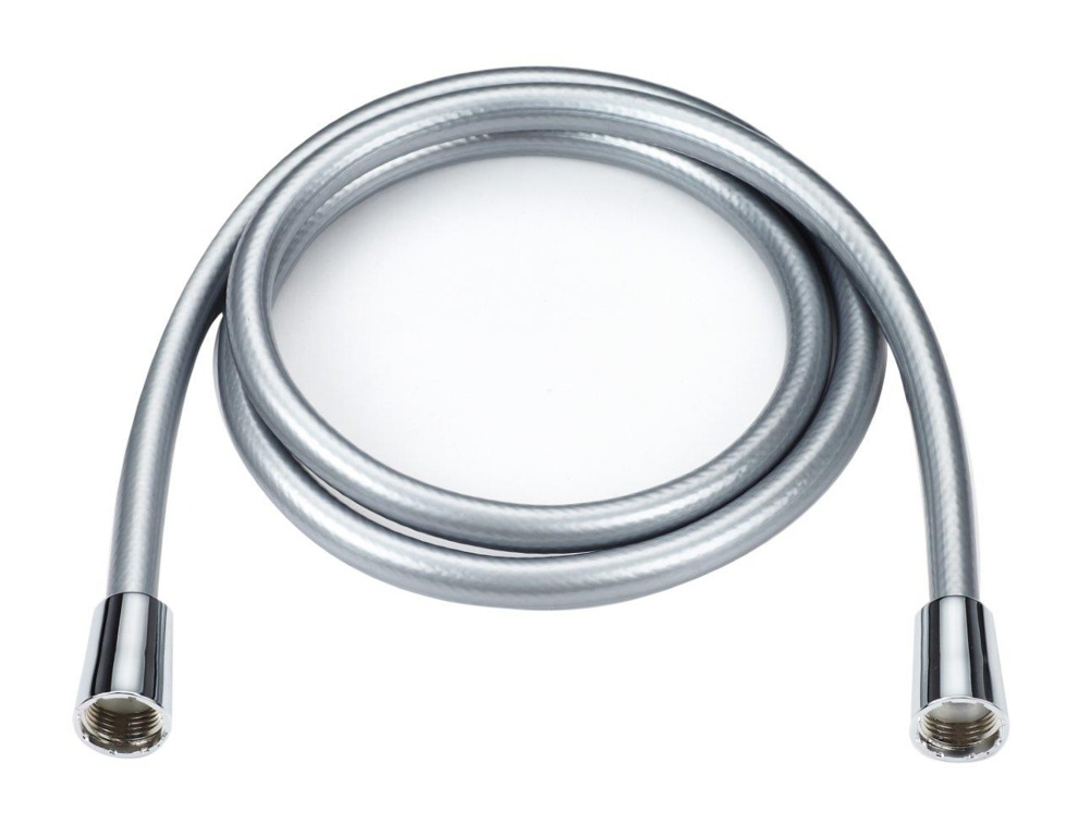 Blue Canyon PVC Shower Hose - 1.5m Silver