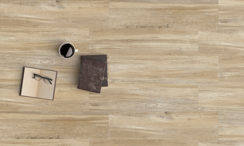 Halcon Baltimore Porcelain Wood Effect Tile 1.27m2 - Natural Oak