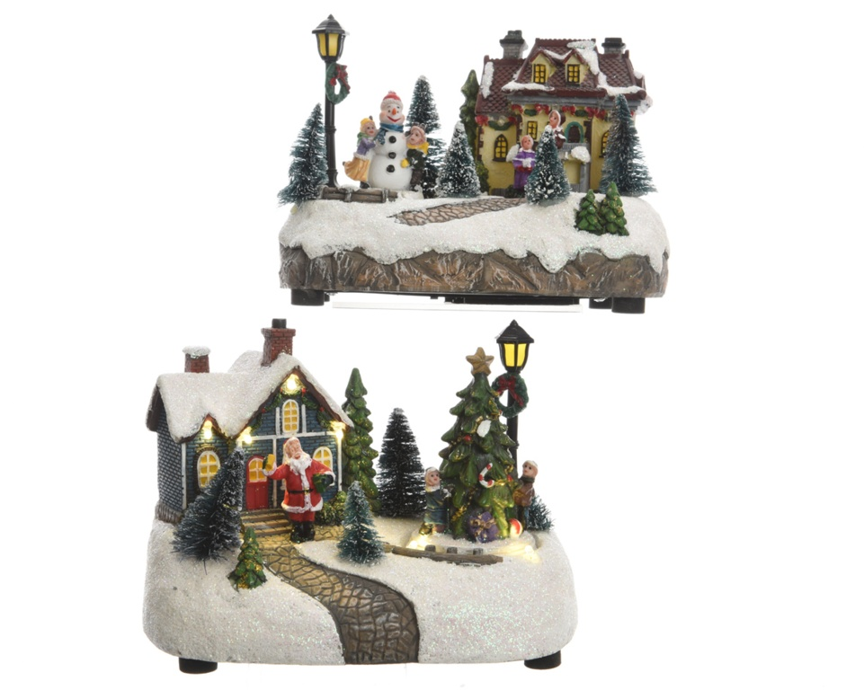 Kaemingk LED Christmas Scene - Assorted