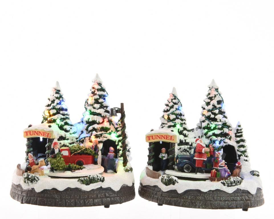 Kaemingk LED Forest Scenes - Assorted