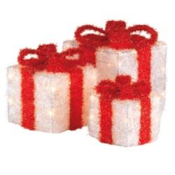 Kaemingk LED White Gift Box