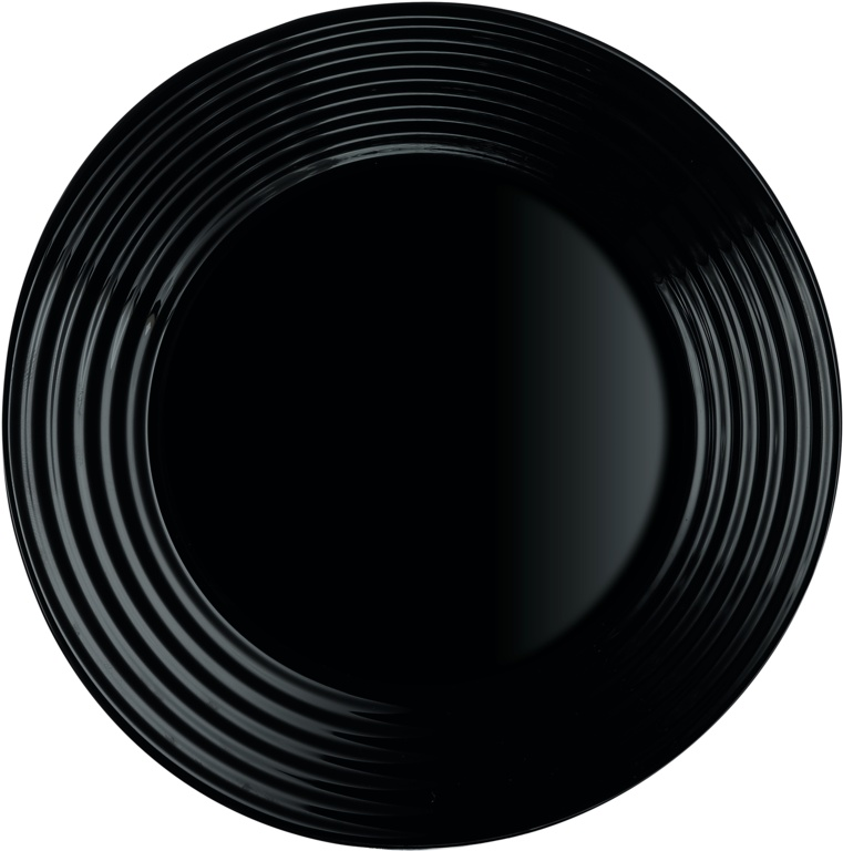 Luminarc Harena Dessert Plate - Black 19cm