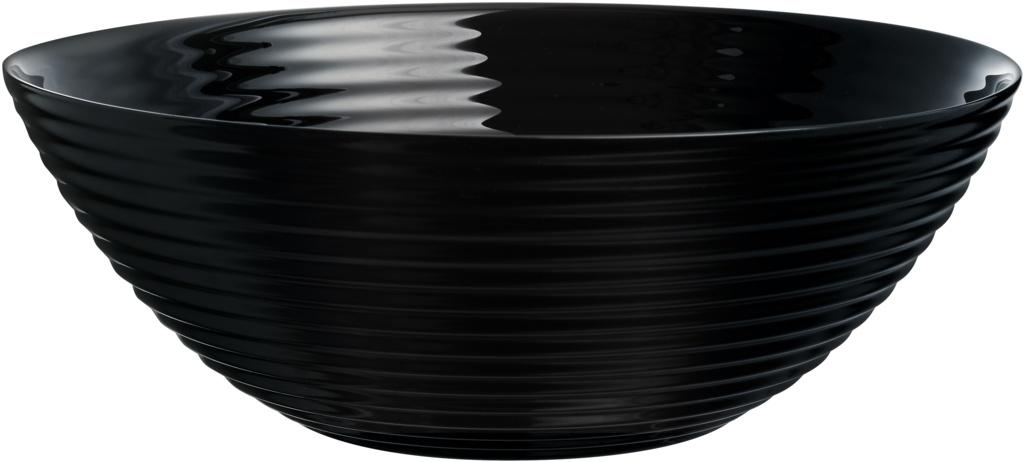 Luminarc Harena Salad Bowl - Black 27cm