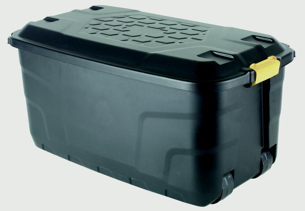 Strata Heavy Duty Storage Box And Lid - 145L