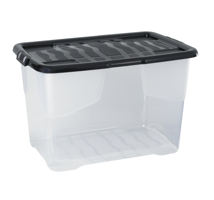 Strata Curve Storage Box And Lid - 65L