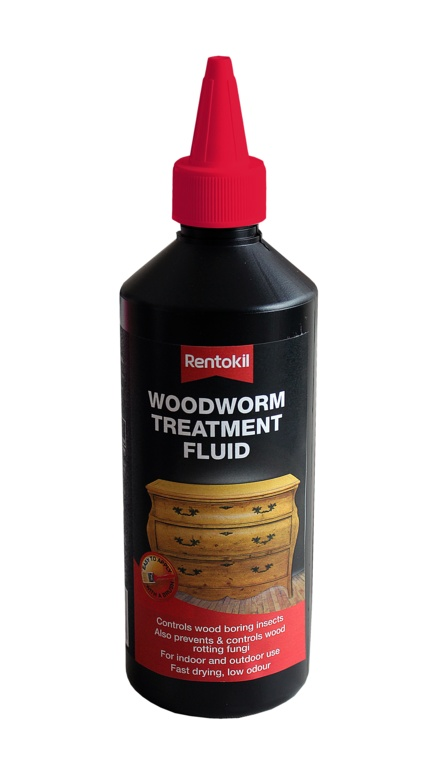 Rentokil Woodworm Treatment - 500ml