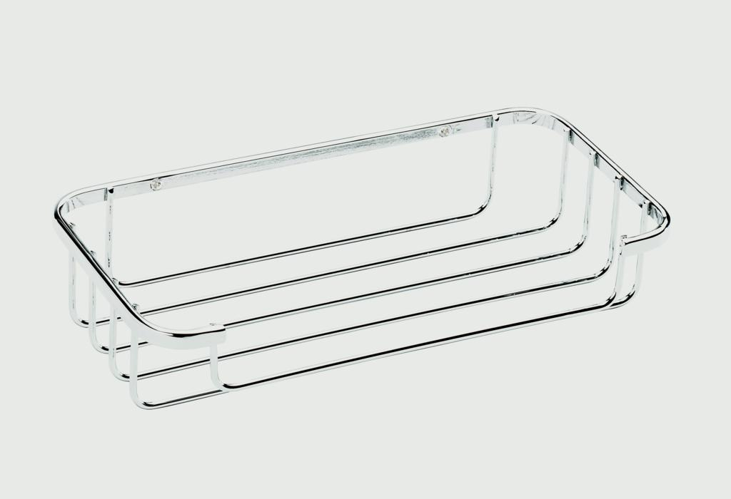 Croydex Cosmetic Basket - Mild Steel