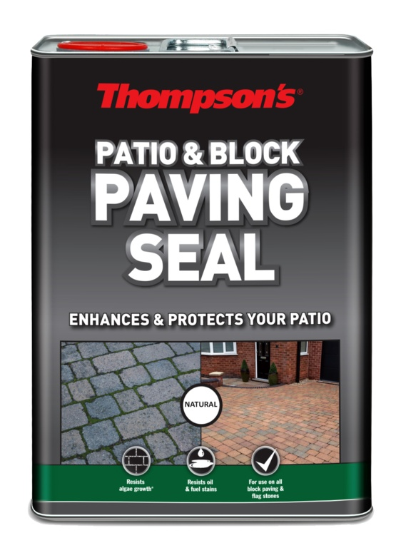 Thompsons Patio & Block Paving Seal 5L - Natural