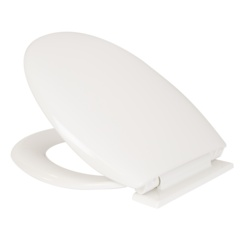 Croydex Polyprop Soft Close White Seat