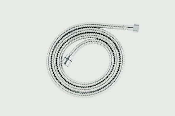 Croydex Reinforced Stainless Steel Hose 1.5m - 7mm Bore
