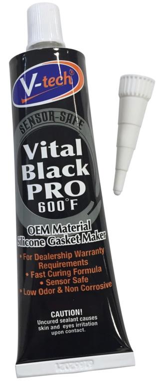 Streetwize Vital Black Pro 600f Sensor Safe - 100gsm